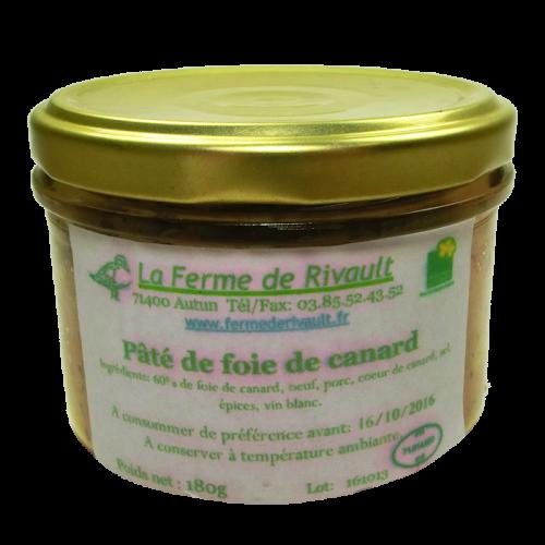 Paté de Foie de canard 180g