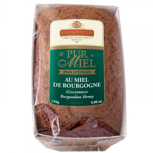 """Pain d'épices """"Pur Miel"""" au miel de Bourgogne 170g"""