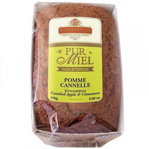 """Pain d'épices """"Pur Miel"""" à la pomme et à la cannelle 170g"""