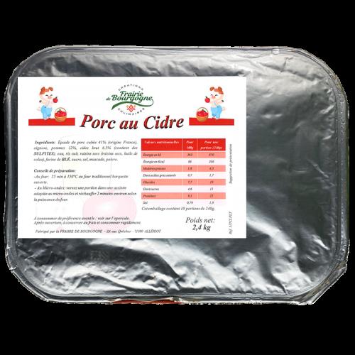 Porc au Cidre 2.4Kg - Frairie de Bourgogne