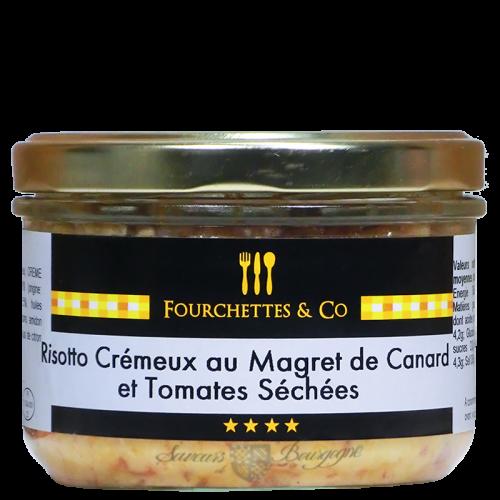 Risotto Crémeux aux Magret de canard et tomates séchées 200g