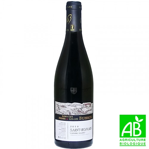 Saint Romain Combe Bazin 2016 - Bio - Domaine Buisson 75cl