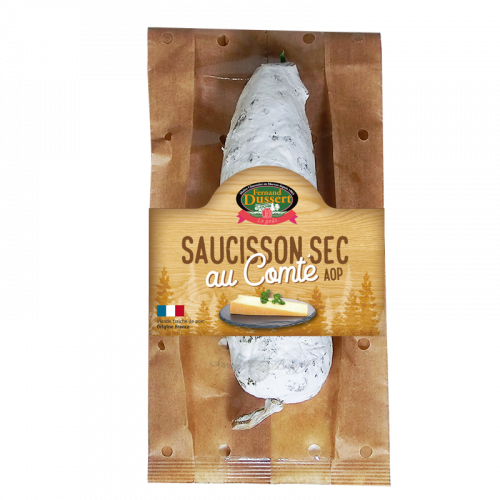 Saucisson Sec au Comté 200g Fernand Dussert