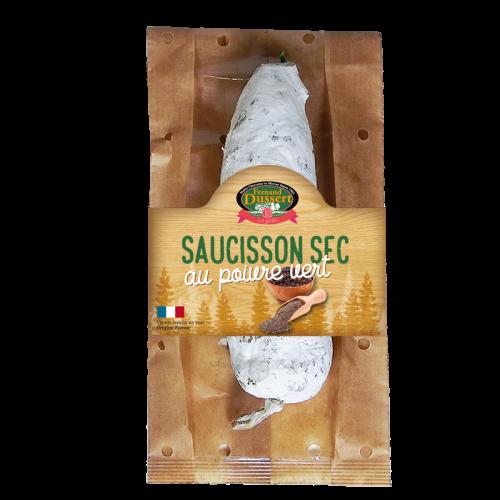 Saucisson sec poivre vert 200g Fernand Dussert