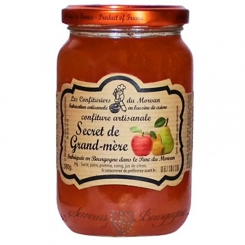 Confiture Secret de Grand-Mère 380g Confituriers du Morvan