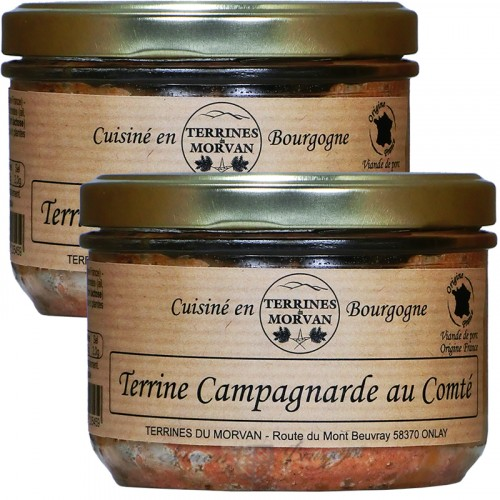 Terrine Campagnarde au Comté 180g + 1 Gratuit