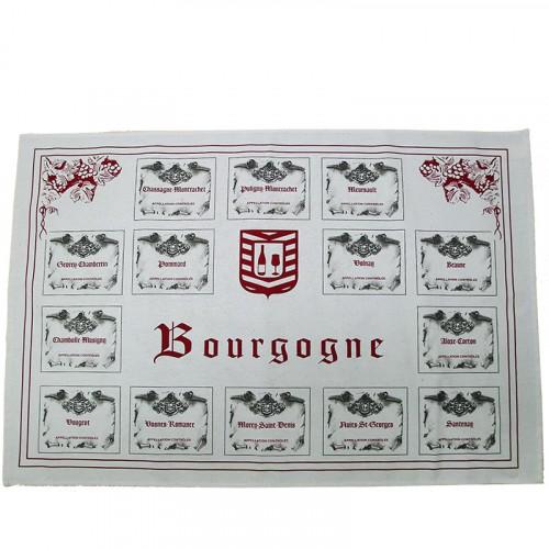 Torchon Appellations Bourgogne