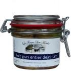 Foie gras entier de canard de bourgogne 180g Ferme Lou Metché