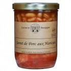 Jarret de porc aux haricots 750g