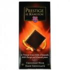 Chocolat Noir à l'Orange et aux éclats d'Amandes 100g