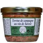 Terrine de campagne au vin de Savoie 180g