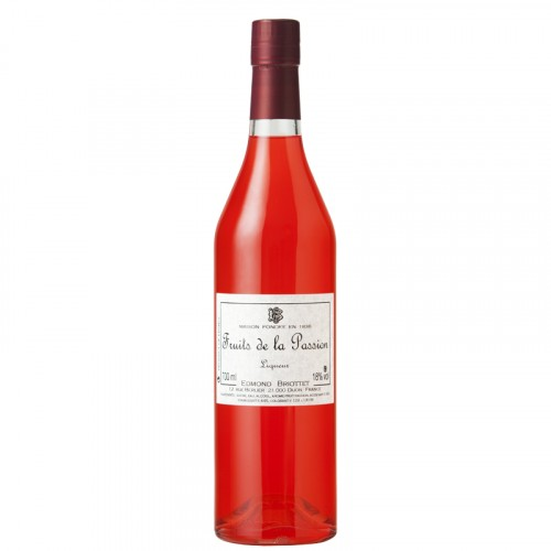 Liqueur de fruit de la passion 18% 70cl
