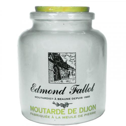 Moutarde de Dijon 500g en pot de grès Fallot