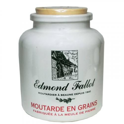 Moutarde en Grains en pot de grès 500g Fallot