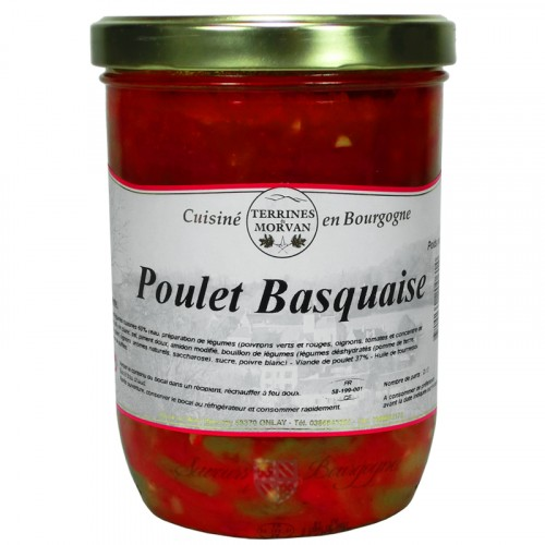 Poulet basquaise 750g