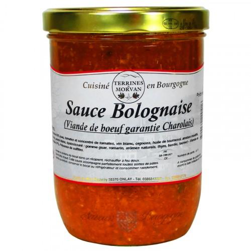 Sauce bolognaise (garantie viande de charolais) 750g