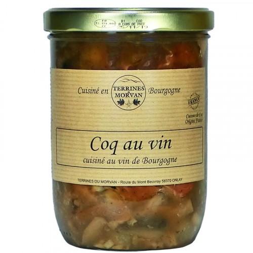 Coq au vin de Bourgogne 750g