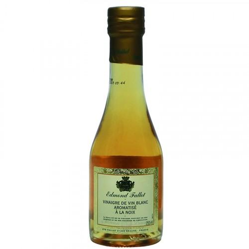 Vinaigre de vin blanc aromatisé à la noix 250ml Fallot