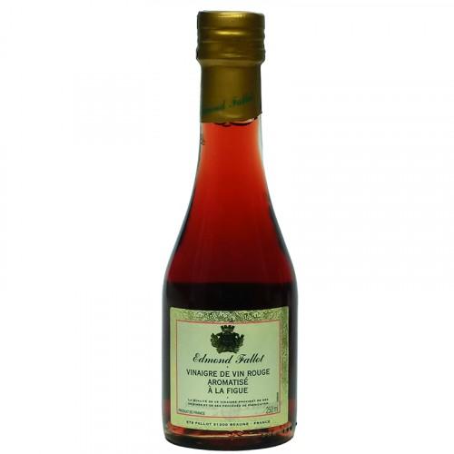 Vinaigre de vin rouge aromatisé à la figue 250ml Fallot
