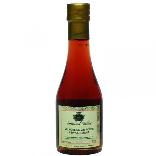 Vinaigre de vin rouge cépage Merlot 250ml Fallot