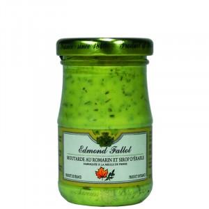 Rosemary & maple syrup mustard 100g Fallot
