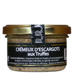 Creamy snails with sweet chilli spread 80g