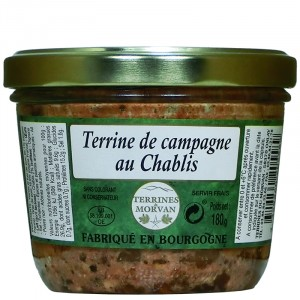 real terrine of pork with wild thyme 180g