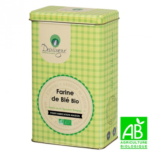 Organic Flour T65 Steel Box 1Kg