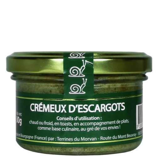 Creamy snails spread 80g