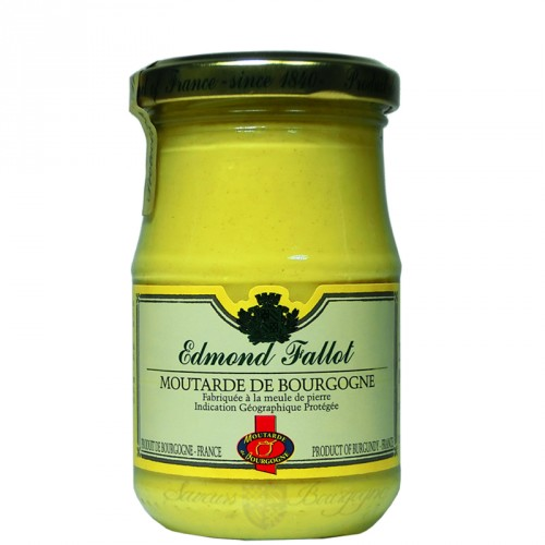Burgundy mustard 210g Fallot
