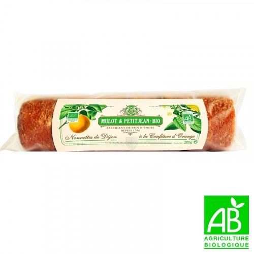 10 Mini-Nonnettes with Orange Marmalade 190g